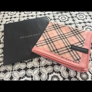 Burberry Scarf new never used square